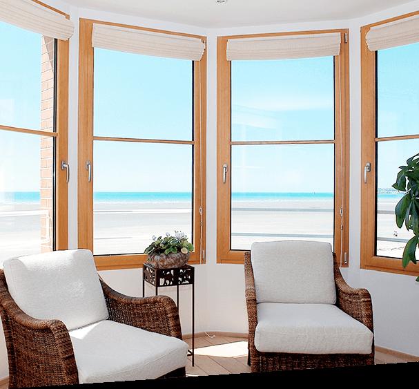 Fenêtres en bois-aluminium