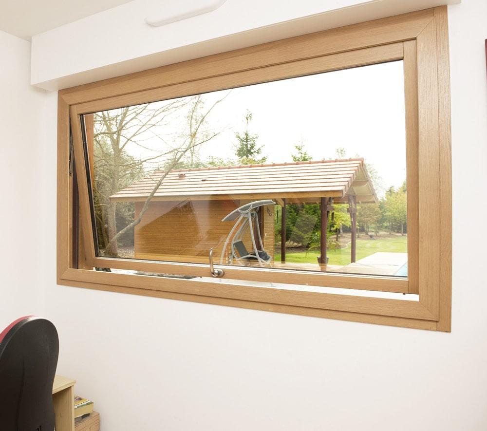 Minco - Fenêtre italienne à projection avec ouverture vers l'extérieur
